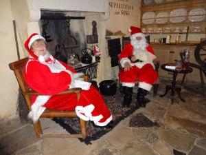 Santa at Burns Cottage